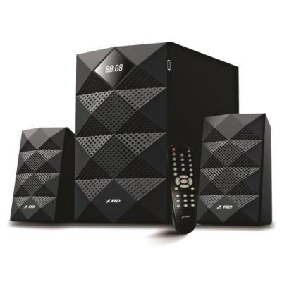 POŠKOZENÝ OBAL - FENDA F&D repro A180X/ 2.1/ 42W/ černé/ BT4.0/ FM rádio/ USB přehrávání/ dálkový ovladač