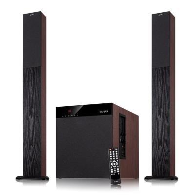 ROZBALENÉ - FENDA F&D repro T-400X/ 2.1/ 100W/ černé/ BT4.0/ NFC/ FM rádio/ USB/SD přehrávání/ dálkové ovládání/ Karaoke