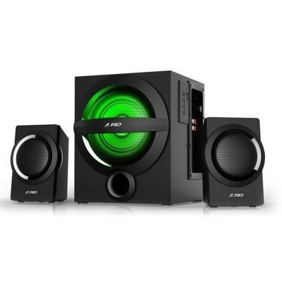 FENDA F&D repro A140X/ 2.1/ 37W/ černé/ BT4.0/ FM rádio/ USB přehrávání/ dálkové ovládání