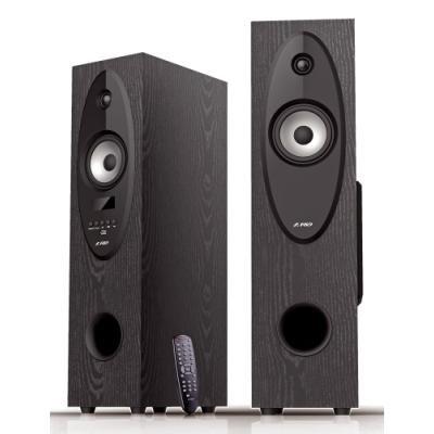 FENDA F&D repro T-30X/ 2.0/ 56W/ černé/ dřevěné/ BT4.0/ FM rádio/ USB přehrávání/ dálkové ovládání/ Karaoke
