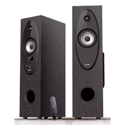 POŠKOZENÝ OBAL - FENDA F&D repro T-30X/ 2.0/ 56W/ černé/ dřevěné/ BT4.0/ FM rádio/ USB přehrávání/ dálkové ovládání/ Karaoke