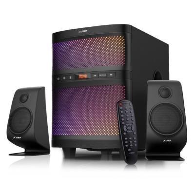 FENDA F&D repro F580X/ 2.1/ 70W/ černé/ BT4.0/ FM rádio/ USB přehrávání/ dálkové ovládání