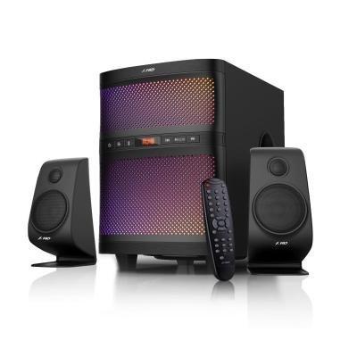 POŠKOZENÝ OBAL - FENDA F&D repro F580X/ 2.1/ 70W/ černé/ BT4.0/ FM rádio/ USB přehrávání/ dálkové ovládání