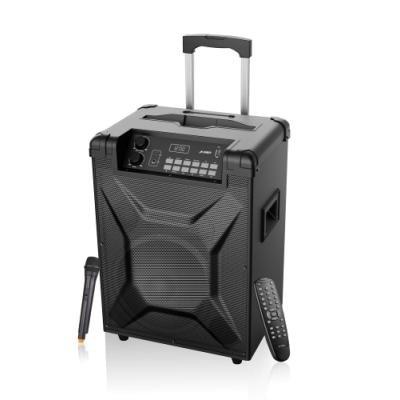 FENDA F&D párty repro T2/ trolejové/ 30W/ BT4.2/ USB přehrávání/ FM rádio/ bezdrátový mikrofon/ dálkové ovládání