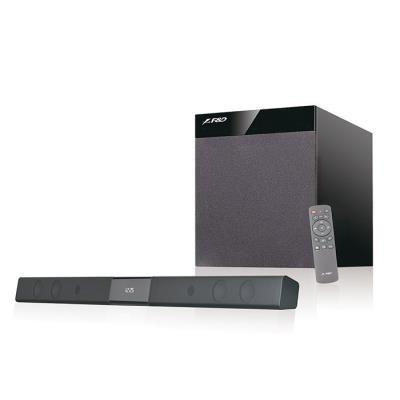POŠKOZENÝ OBAL - FENDA F&D repro T-360XT/ 2.1/ soundbar/ bezdrátový subwoofer/ 80W/ černé/ BT4.0/ USB přehrávání/ dálkové ovlá...