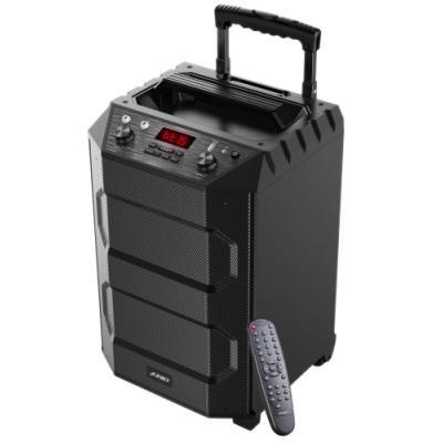 ROZBALENÉ - FENDA F&D párty repro T5/ trolejové/ 33W/ BT4.2/ USB přehrávání/ FM rádio/ bezdrátový mikrofon/ dálkové ovlád...