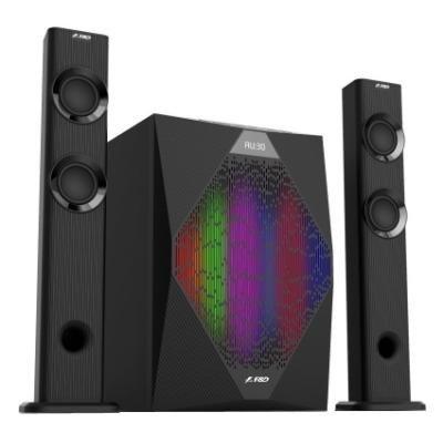 FENDA F&D repro T-300X/ 2.1/ 70W/ černé/ BT4.0/ FM rádio/ USB přehrávání/ dálkové ovládání