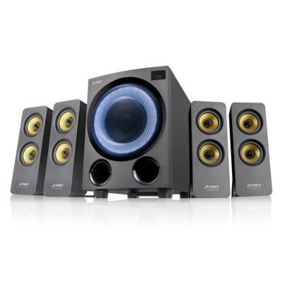 POŠKOZENÝ OBAL - FENDA F&D repro F7700X/ 4.1/ 80W/ černé s RGB/ BT5.0/ FM rádio/ USB přehrávání/ optický vstup/ dálkové ovládá...