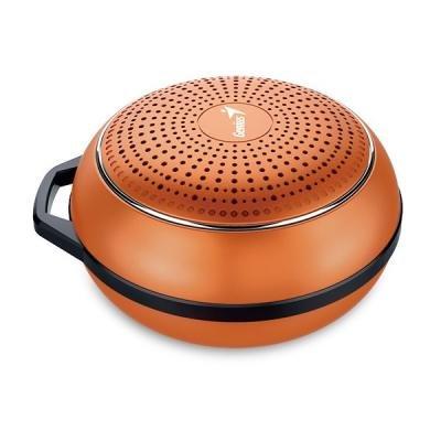GENIUS repro SP-906BT Plus M2/ 3W/ Bluetooth 4.1/ dobíjecí/ metalická oranžová