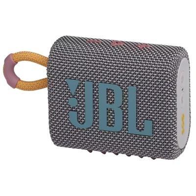 JBL GO 3 šedý