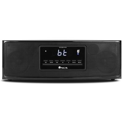 NGS SKY BOX/ BT repro/ 60W/ FM rádio/ CD mechanika/ Podpora MP3/ Černý