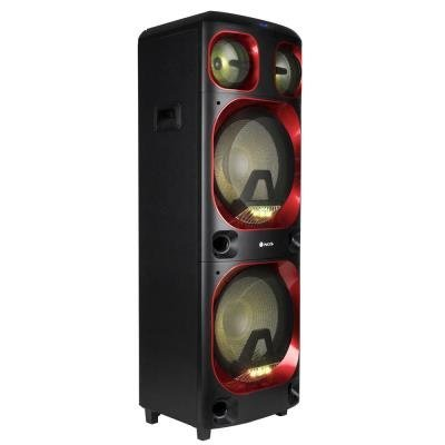 NGS WILDSKA3/ BT repro/ 1200W/ TWS/ MEGABASS/ LED/ USB/ SD slot/ Černé