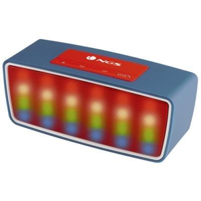 Reproduktor NGS Roller Glow modrý