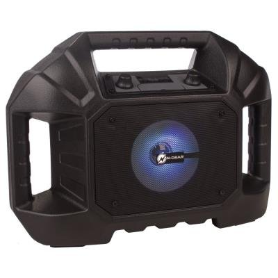 N-GEAR STREETBOX THE B/ BT repro/ 100W/ FM/ IPX5/ USB/ LAMP/ 1x MIC