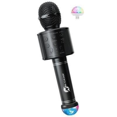 N-GEAR Sing Mic S20L/ Bezdrátový BT mikrofon/ 5W/ Disco světlo