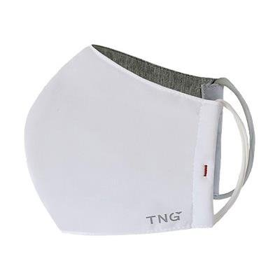 TNG rouška M bílá