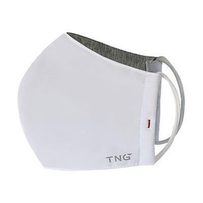 TNG rouška L bílá