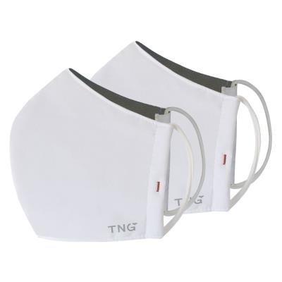 TNG rouška M bílá 2ks