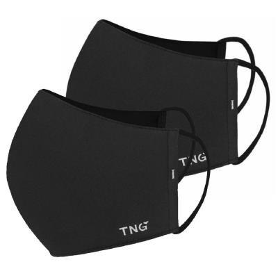 TNG rouška M černá 2ks