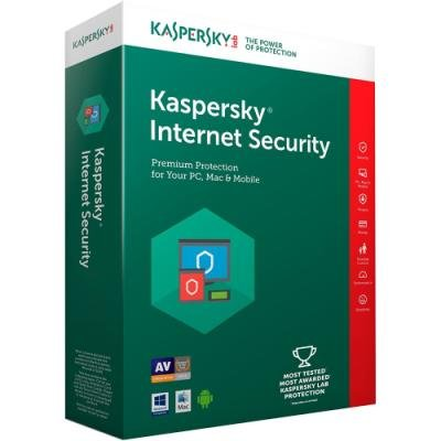 Antivir Kaspersky Internet Security MD 2018 CZ