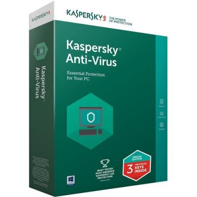 Antivir Kaspersky Anti-Virus 2018 CZ