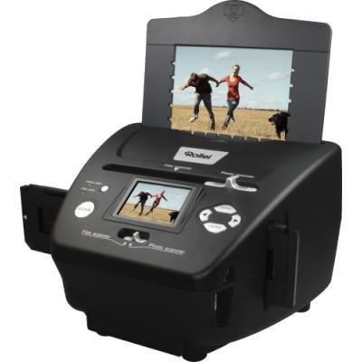 """ROLLEI skener DF-S 240 SE/ Negativy + Vizitky + Fotky/ 5Mpx/ 1800dpi/ 2,4"""" LCD/ SDHC/ USB"""