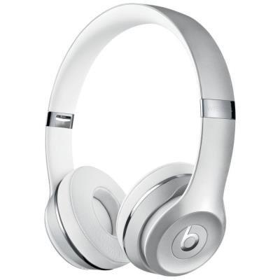 Headset Beats Solo3 bílo-stříbrný