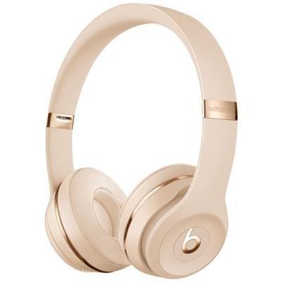 Headset Beats Solo3 zlatý