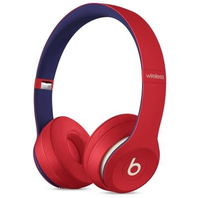 Beats Solo3 Bezdrátová sluchátka – Beats Club Collection – Club Red