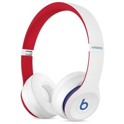 Headset Beats Solo3 Club červeno-bílý