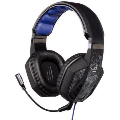 HAMA uRage SoundZ gamingový headset/ drátová sluchátka + mikrofon/ USB/ citlivost 92 dB/mW/ černo-šedý
