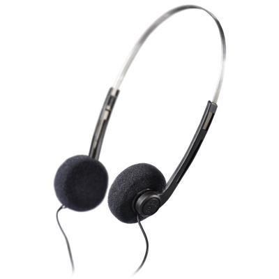 Sluchátka Hama Basic černo-stříbrná