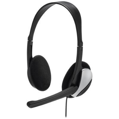 Drátové headsety