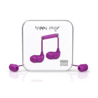 Headset Happy Plugs In-Ear Purple