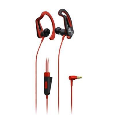 Sluchátka Pioneer SE-E5T-R červená