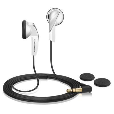 SENNHEISER sluchátka do uší MX 365 / 3,5 mm Jack / citlivost 110 dB/mW / bílá