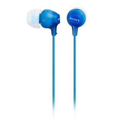 Headset Sony MDREX15AP modrá