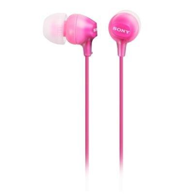 Sluchátka Sony MDREX15LP růžová