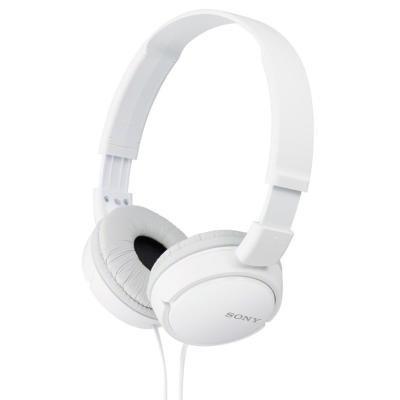 Sluchátka Sony MDRZX110 bílá