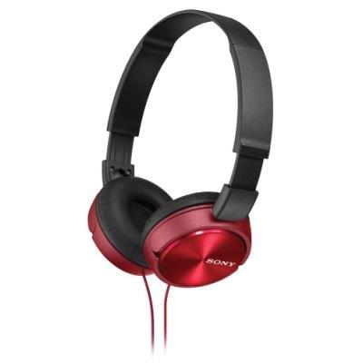 Sluchátka Sony MDRZX310 červená