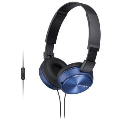 Headset Sony MDRZX310AP modrý