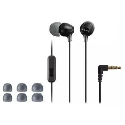 Headset Sony MDREX15AP černý