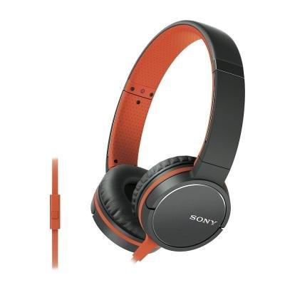 Headset Sony MDR-ZX660AP oranžový