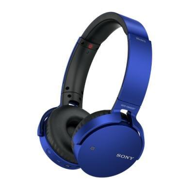 Headset Sony MDR-XB650BTL modrý
