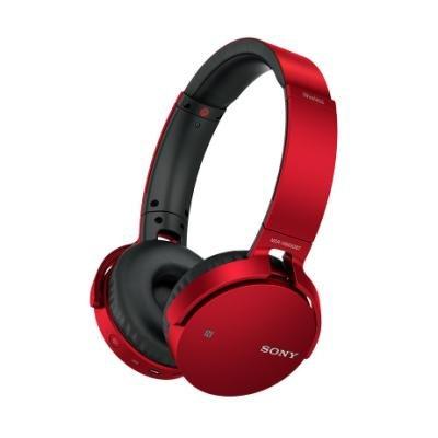 Headset Sony MDR-XB650BTR červený