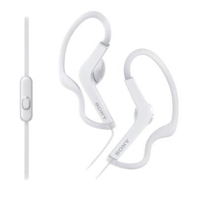 Headset Sony MDRAS210APW bílý