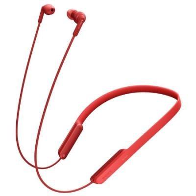 Headset Sony MDRXB70BTR červený