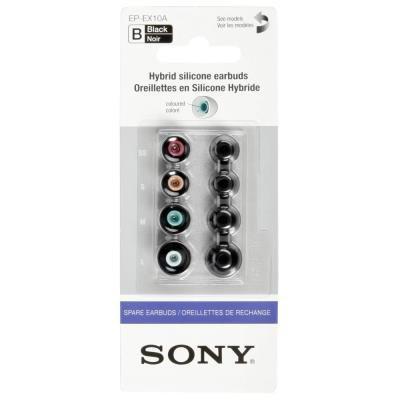Náhradní špunty Sony EP-EX10AB černé