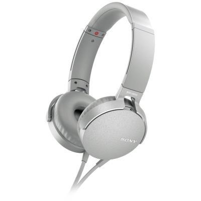Sony MDR-XB550AP bílý