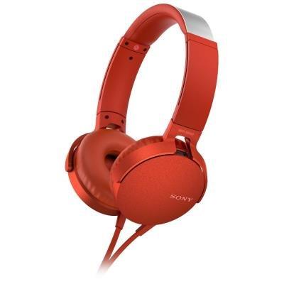Sony MDR-XB550AP červený